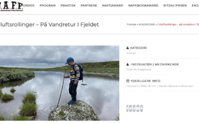 Nordisk Adventurefilm Festival – min film er med!